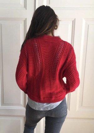 Ba&sh Sweter oversize Wielokolorowy Bawełna