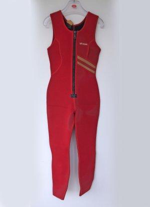 roter Surfanzug Damen, mit Jacke, Größe 40