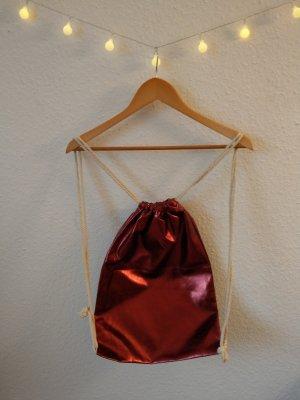 Canvas Bag dark red
