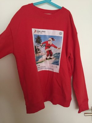 """Roter """"Ugly-Christmas"""" sweater"""