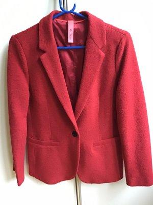 Bailly Diehl Blazer en laine rouge brique