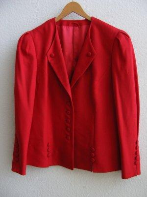 Helene Straßer Blazer en laine rouge laine