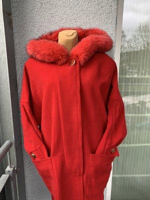 Roter Wollmantel gr 40 Rotkäppchen Mantel
