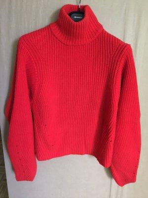 Roter Wollpullover mit Kaschmir von H&M