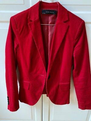 Zara Unisex Blazer red