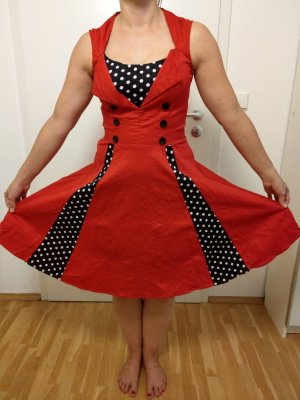 Rotes 50s Kleid