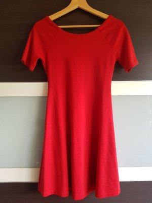 Rotes A-Linien Kleid Zara, Gr. 34-36