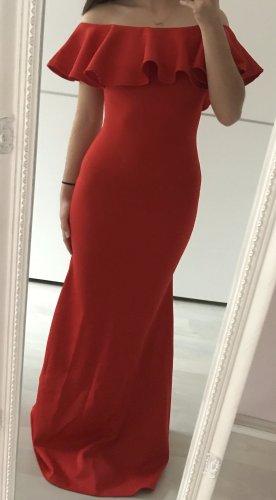 Asos Robe de soirée rouge