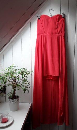 H&M Robe bas asymétrique rouge clair