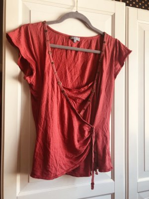 per una by Marks & Spencer Basic Top red cotton