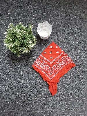 Neckerchief white-red