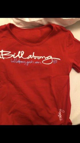 Rotes billabong tshirt