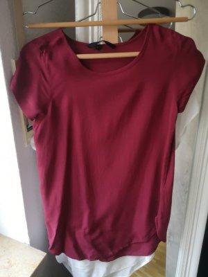 rotes blusen shirt