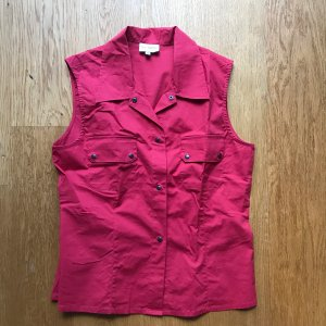 Rotes Blusen Top von Top Secret Größe 36