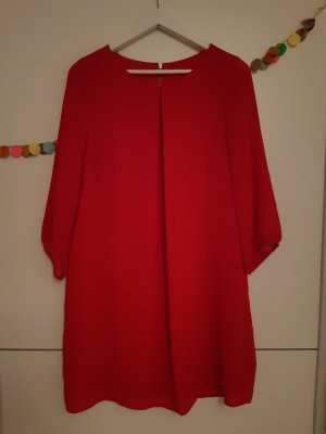 Rotes Blusenkleid H&M 38