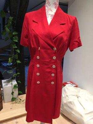 Rotes Blusenkleid von Betty Barclay aus Seide