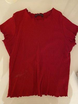 Brandy & Melville T-shirt court rouge