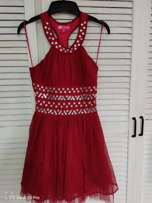 Rotes Cocktailkleid 34