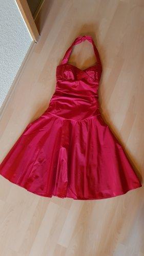 Heine Sukienka z dekoltem typu halter czerwony