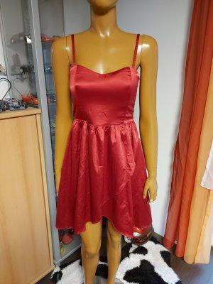 Amisu Vestido de cóctel carmín