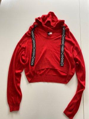Rotes Crop Shirt