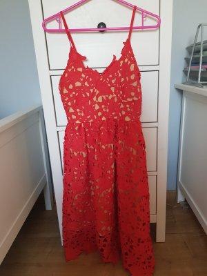 Rotes elegantes Kleid von Vero Moda