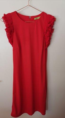 Versace Abito jersey rosso