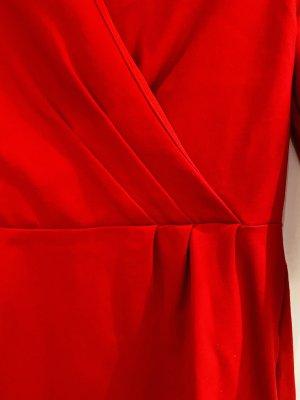 Lands' End Abito da sera rosso mattone-rosso neon Cotone