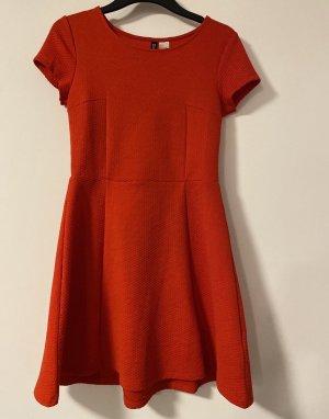 Rotes H&M Sommerkleid Kleid 36