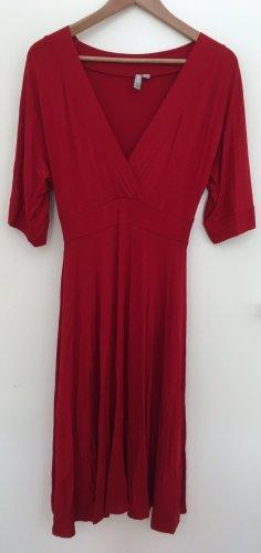 Asos Midi-jurk donkerrood