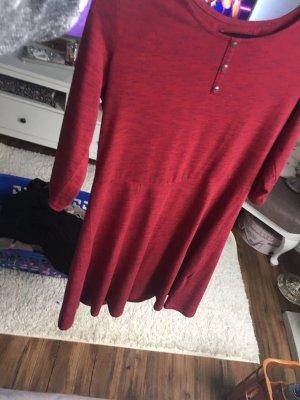 Twintip Shirt Dress dark red