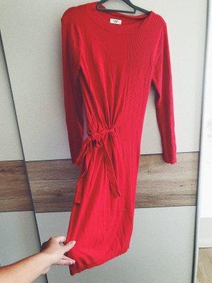 Jacqueline de Yong Robe pull rouge