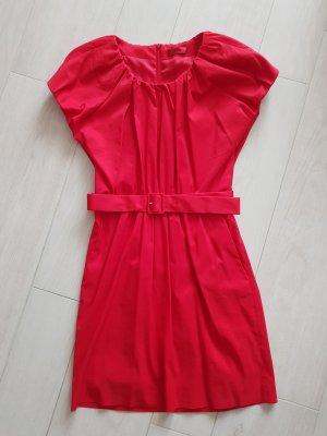 """Rotes Kleid """"Kourtney"""" von Hugo Boss, Größe 36,NEU"""