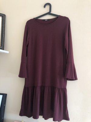 Bikbok Midi-jurk bordeaux