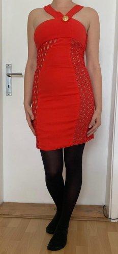 rotes Kleid Versace x HM