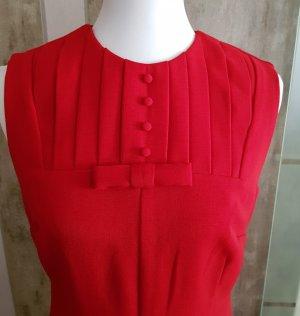 Asos A-lijn jurk donkerrood