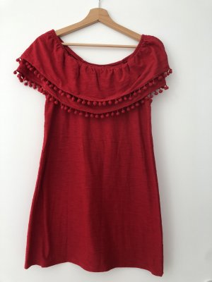 Calzedonia cobey Robe épaules nues rouge