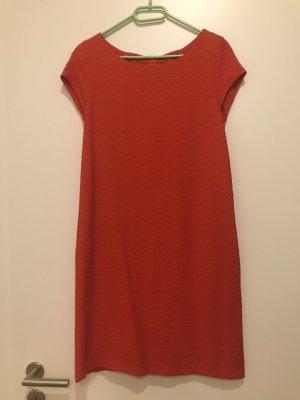 Rotes Kleid von Promod, S, Etuikleid, Glitzer
