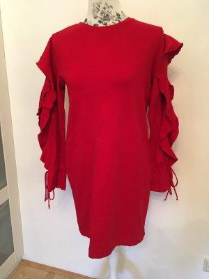 Rotes Kleid, Zara, Gr: M