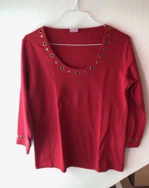 Rotes Langarmshirt
