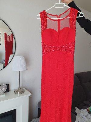 Rotes,langes  Abendkleid