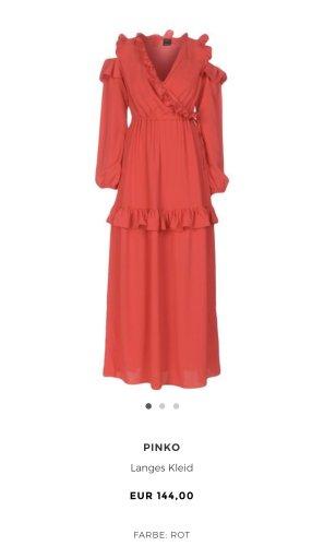 Rotes langes Kleid coctailkleid