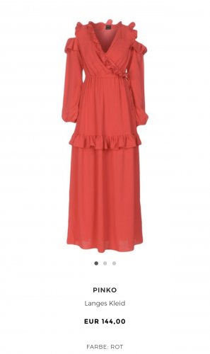 Pinko Evening Dress red