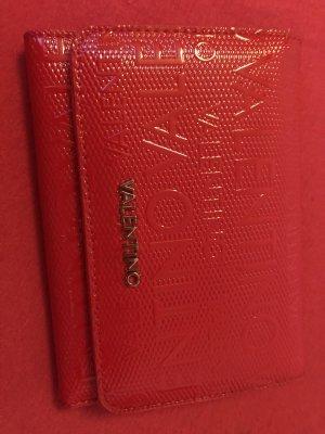 Rotes Mario Valentino Portemonnaie
