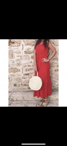 Rotes Maxi-Kleid