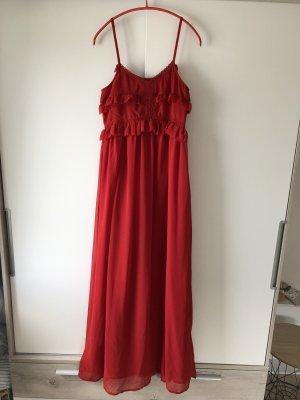 Rotes Maxikleid von Mango Suit