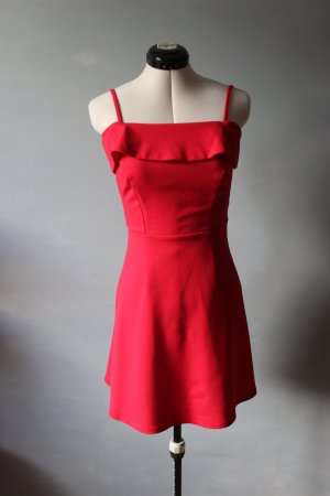 Rotes Mini Kleid