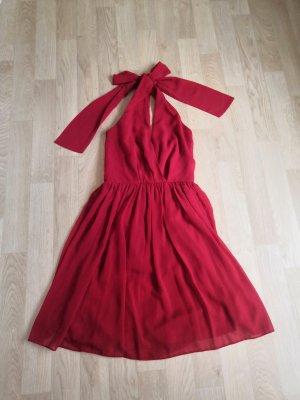 Asos Halter Dress red