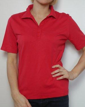 Bexleys Polo rosso-rosso neon Cotone