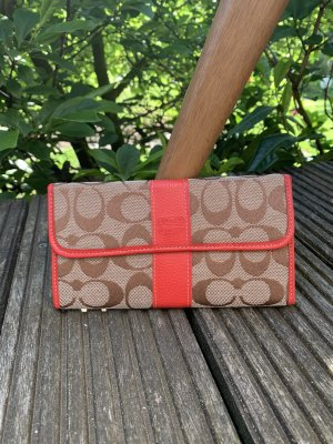 Coach Wallet oatmeal-red